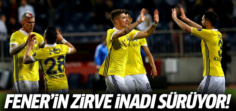 Fenerbahçe'nin zirve inadı sürüyor! 4-1