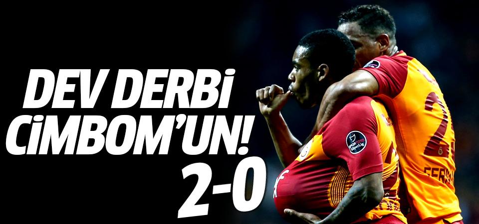 Dev derbiyi Galatasaray kazandı! 2-0