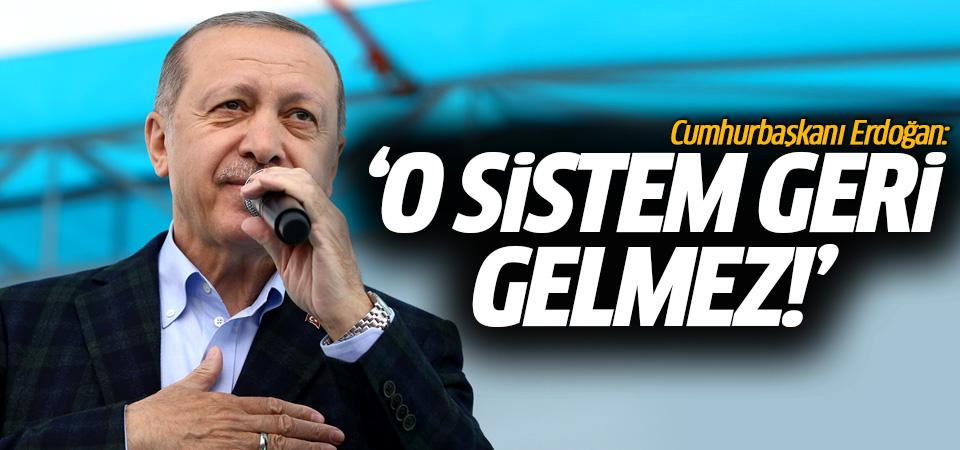 Cumhurbaşkanı Erdoğan: Bunu biz Kılıçdaroğlu için de yaptık