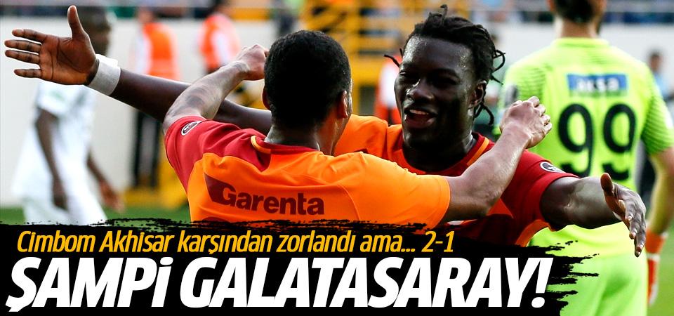 Galatasaray adım adım şampiyonluğa! 2-1