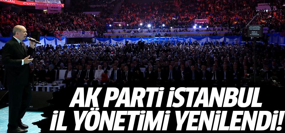 AK Parti İstanbul il yönetimi yenilendi!