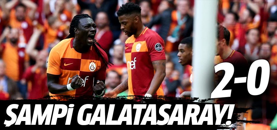 Galatasaray şampiyonluğa çok yakın! 2-0