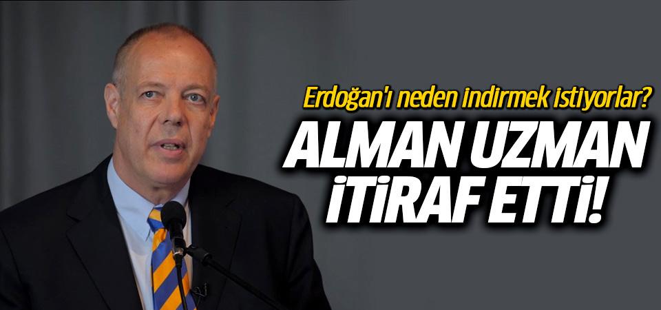 Alman Ortadoğu uzmanı: Erdoğan düşmanlığı kartellerin oyunu!