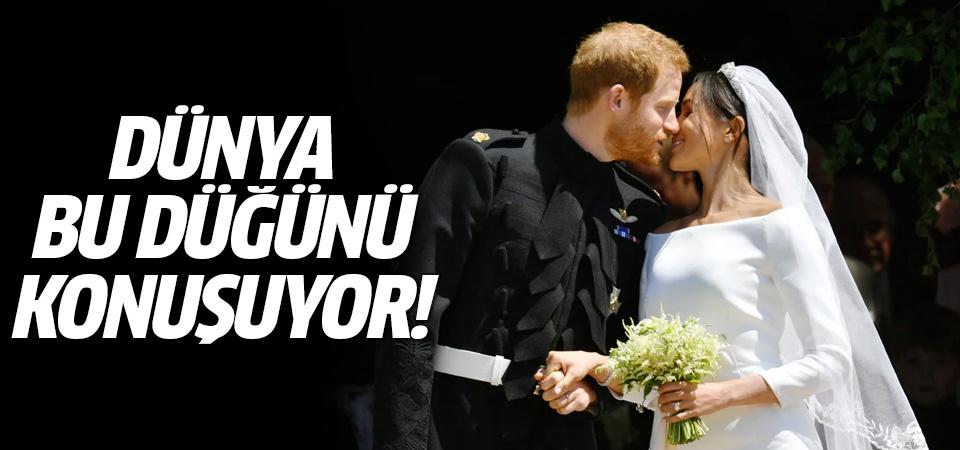 Dünya bu düğünü konuşuyor! Prens Harry ve Meghan Markle evlendi
