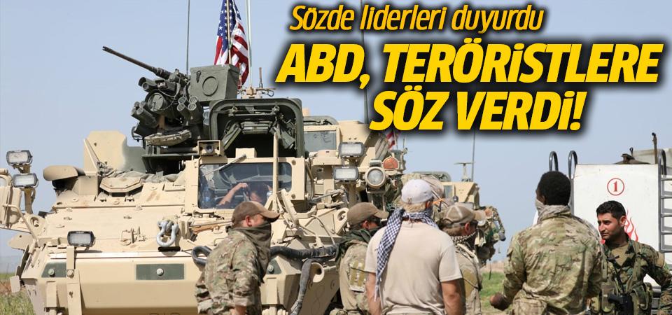 ABD teröristlere söz verdi! Liderleri duyurdu