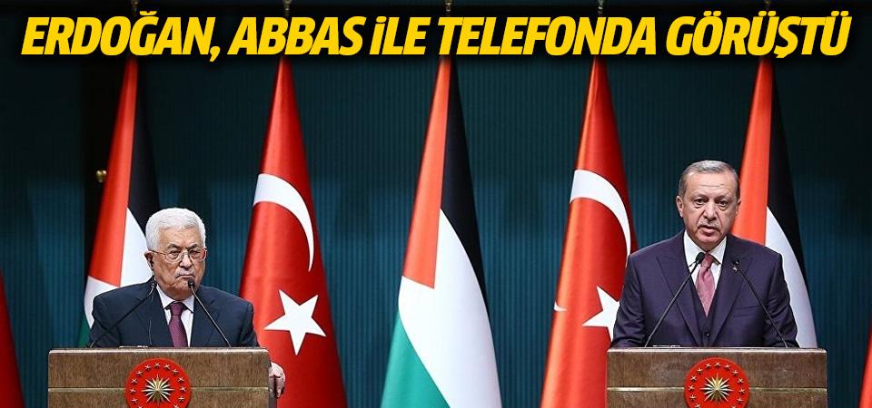 Erdoğan, Abbas ile telefonda görüştü