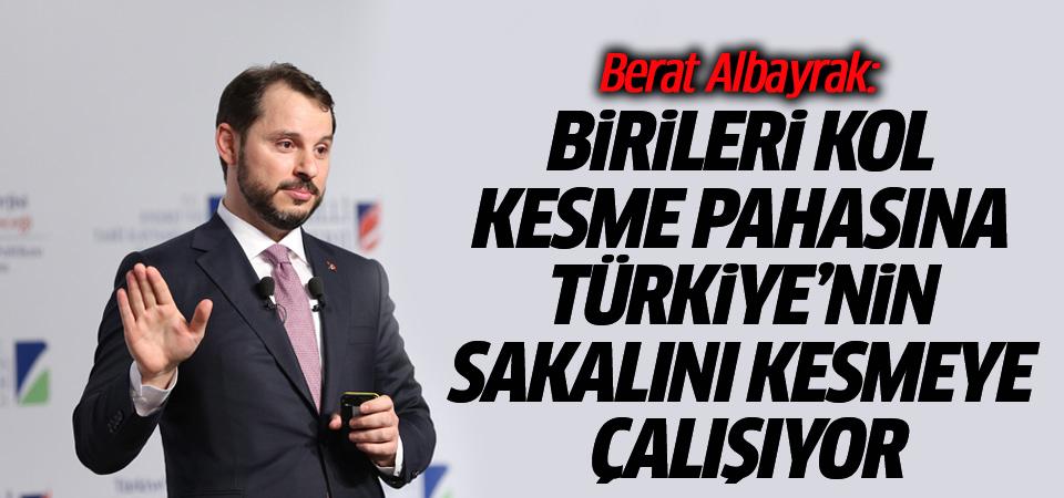 Berat Albayrak: Birileri kol kesme pahasına Türkiye'nin sakalını kesmeye çalışıyor