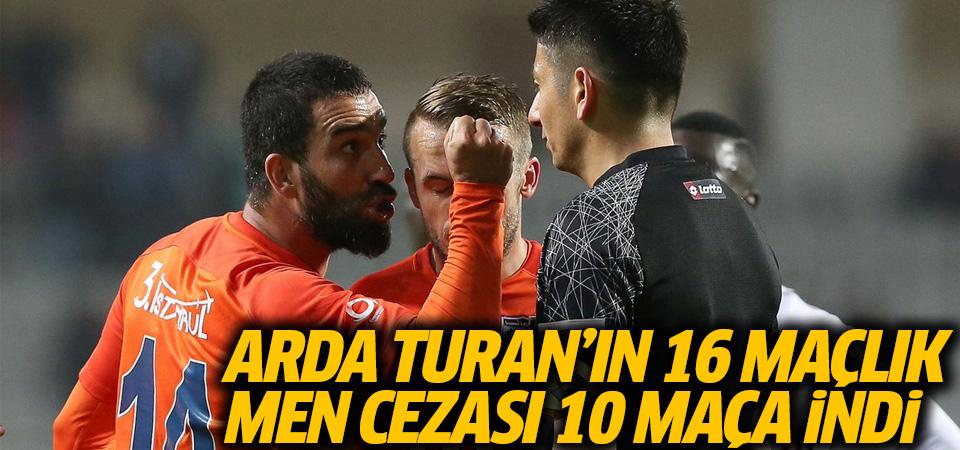 Arda Turan'a 16 maçlık men cezası 10 maça indi