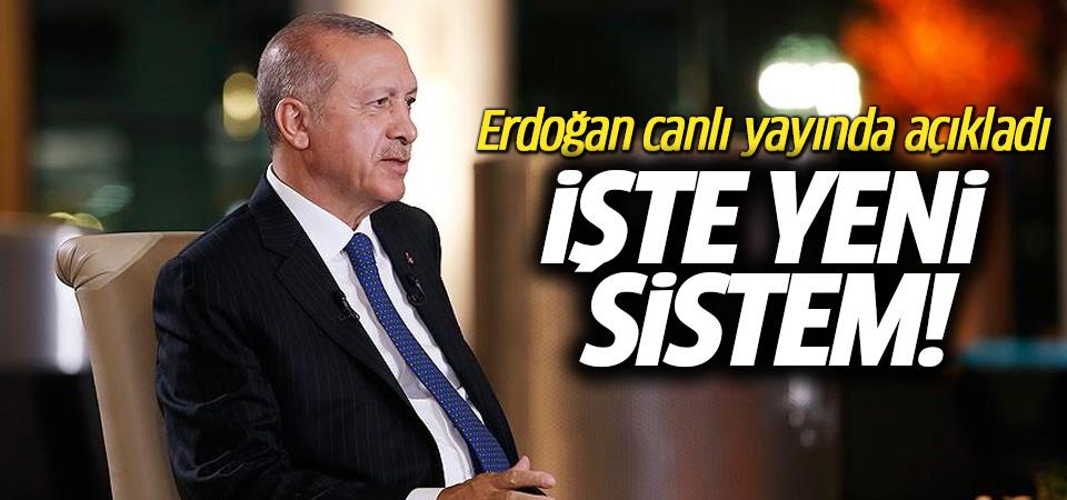 Erdoğan yeni hükümet sistemini açıklıyor!