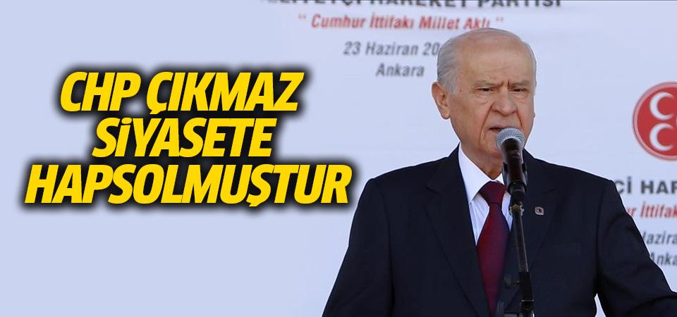 MHP Genel Başkanı Bahçeli: CHP çıkmaz siyasete hapsolmuştur