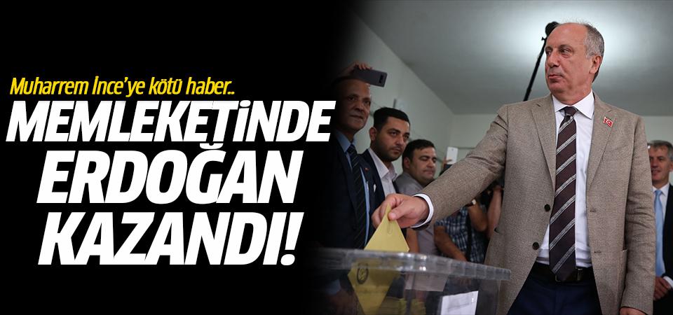 Muharrem İnce'ye kötü haber.. Memleketinde Erdoğan kazandı!