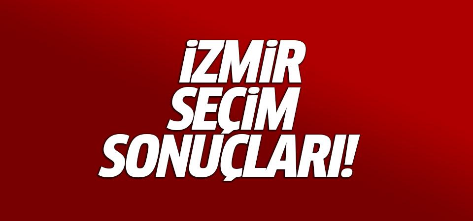 24 Haziran 2018 İzmir seçim sonuçları