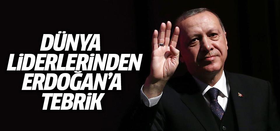 Dünya liderlerinden Erdoğan'a tebrik