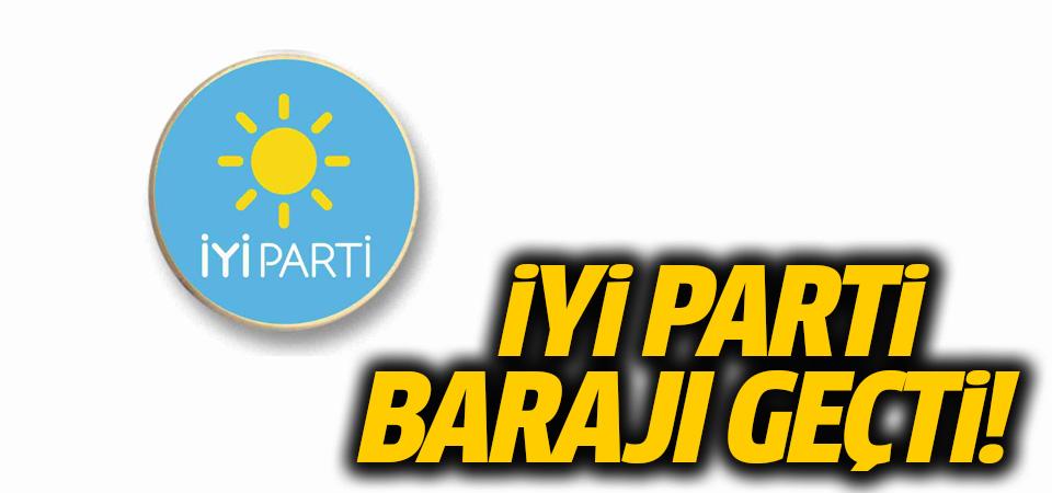İYİ Parti barajı aştı
