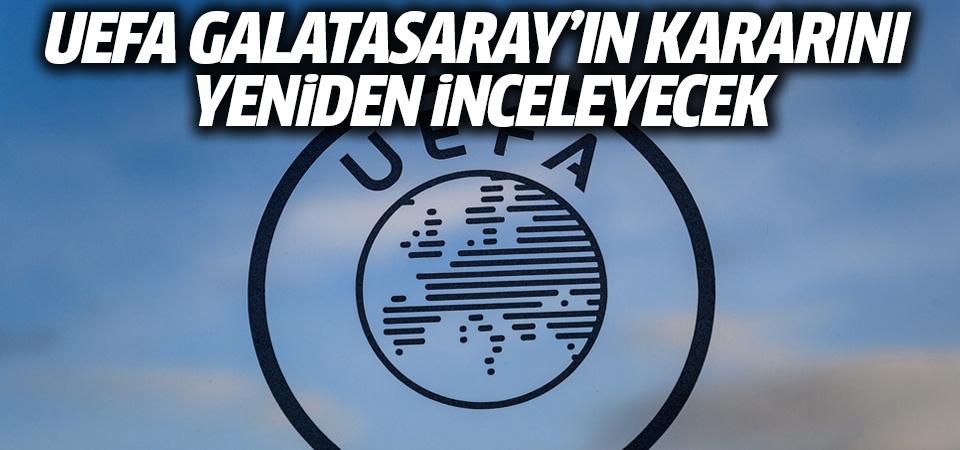 UEFA Galatasaray kararını yeniden inceleyecek