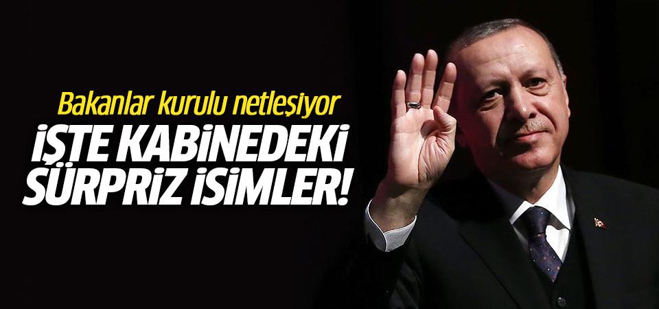Erdoğan'ın Yeni Bakanlar Kurulu'nda Yer Vereceği Sürpriz İsimler Belli Olmaya Başladı