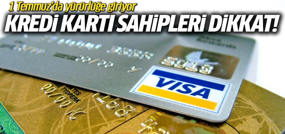 Merkez Bankası'ndan kredi kartı sahiplerini ilgilendiren haber
