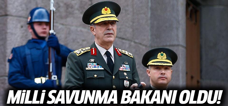 Hulusi Akar, Milli Savunma Bakanı oldu