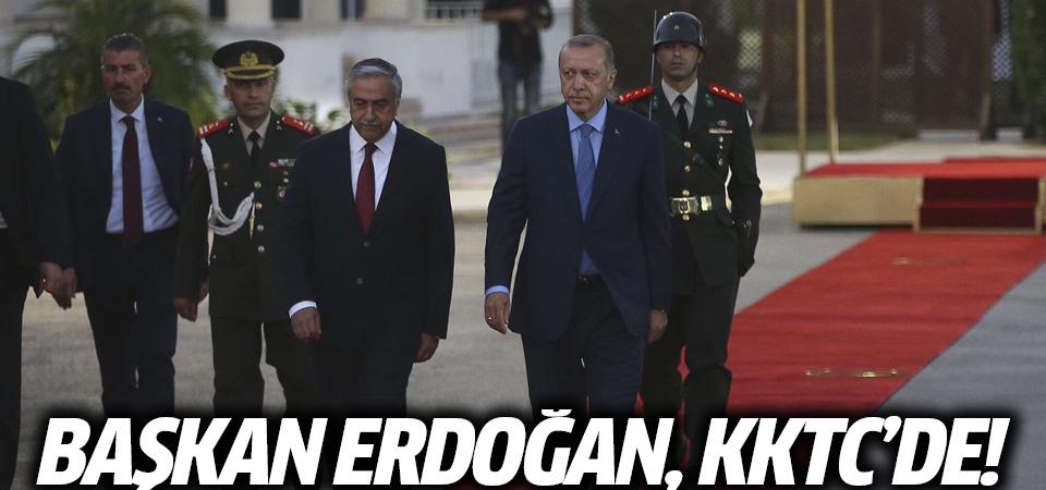 Başkan Erdoğan, KKTC'de