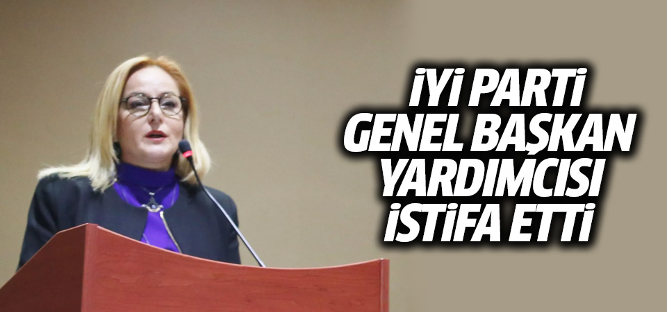 İYİ Parti'de Ayfer Yılmaz Istifa Etti