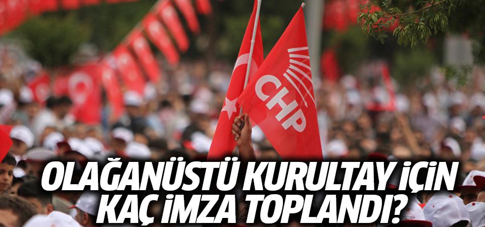 CHP'de muamma: Olağanüstü kurultay için kaç imza toplandı?