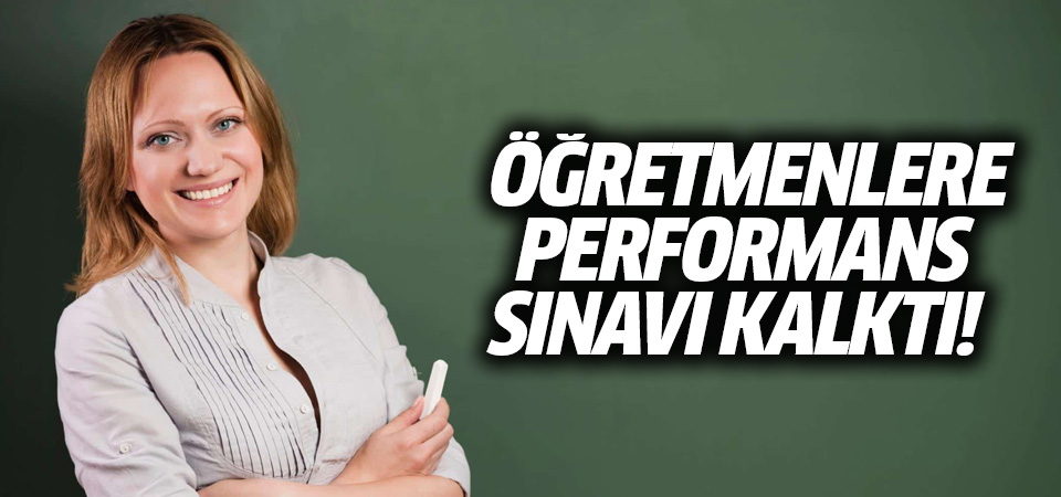 Bakan Selçuk: Öğretmen performans kriteri uygulamayacağız
