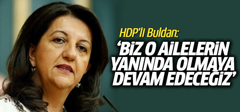HDP'li Buldan'dan cenaze açıklaması