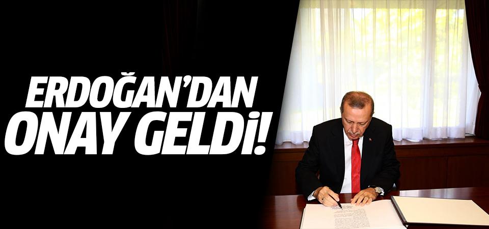 Erdoğan onayladı! Resmi Gazete'de yayımlandı