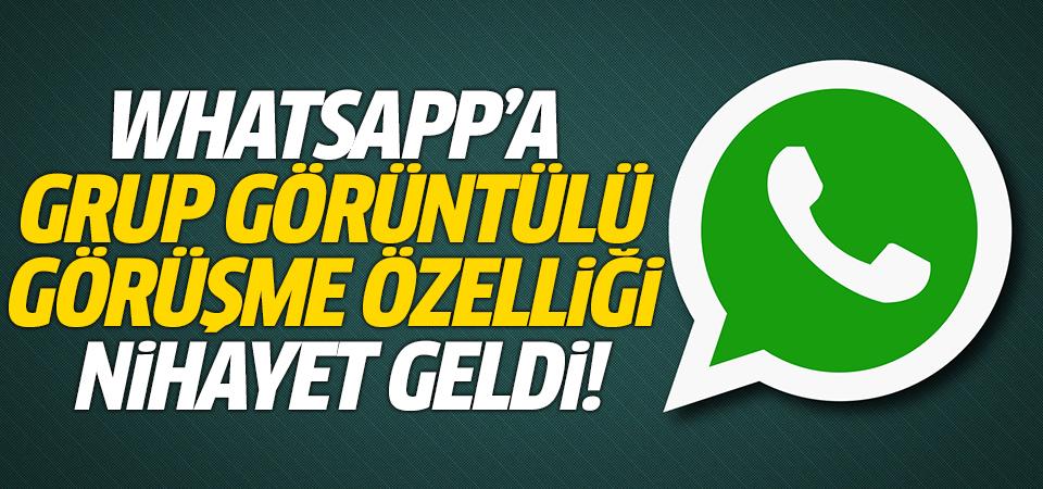 WhatsApp'a grup görüntülü görüşme özelliği nihayet geldi!