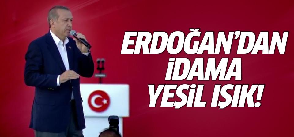 Erdoğan'dan şehit cenazesinde 'idam' sözü!
