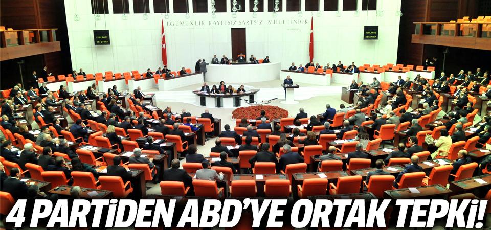 4 partiden Abd'ye ortak tepki!