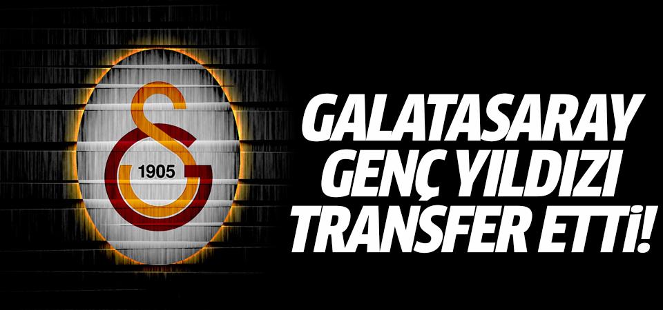 Galatasaray genç yıldızı transfer etti!