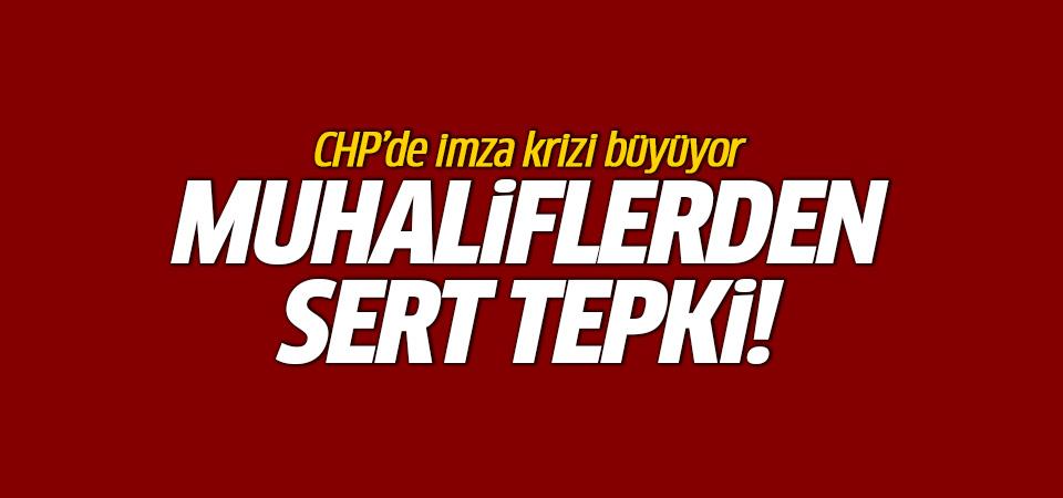 Muhaliflerden CHP'nin açıklamasına jet yanıt: Bu ipe un sermektir!