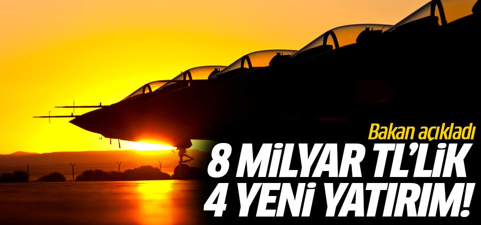 Mustafa Varank paylaştı! 8 milyar TL'lik dört yeni yatırım