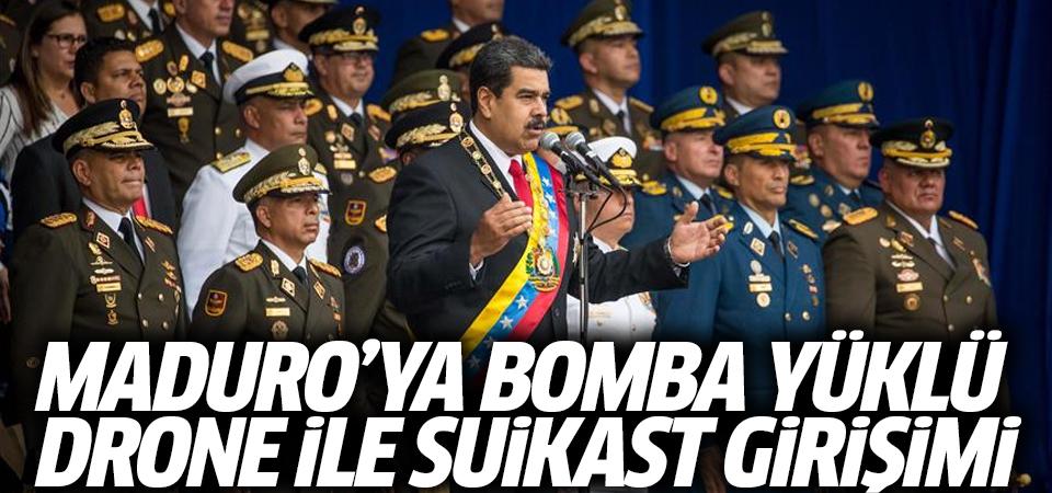 Maduro'ya bomba yüklü drone ile suikast girişimi