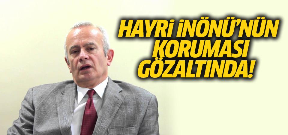Şişli Belediye Başkanı Hayri İnönü'nün koruması Mehmet Ali Başkale gözaltında
