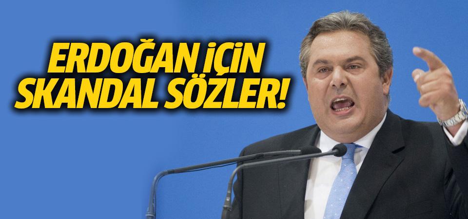 Yunan bakan iyice küstahlaştı! Bu kez hedef doğrudan Erdoğan