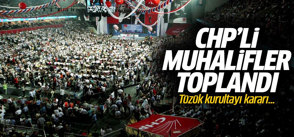 CHP'li muhaliflerden son dakika açıklaması! Tüzük kurultayı kararı