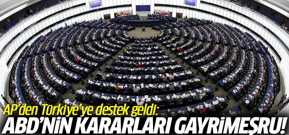 AP'den Türkiye'ye destek geldi: ABD'nin kararları gayrimeşru!