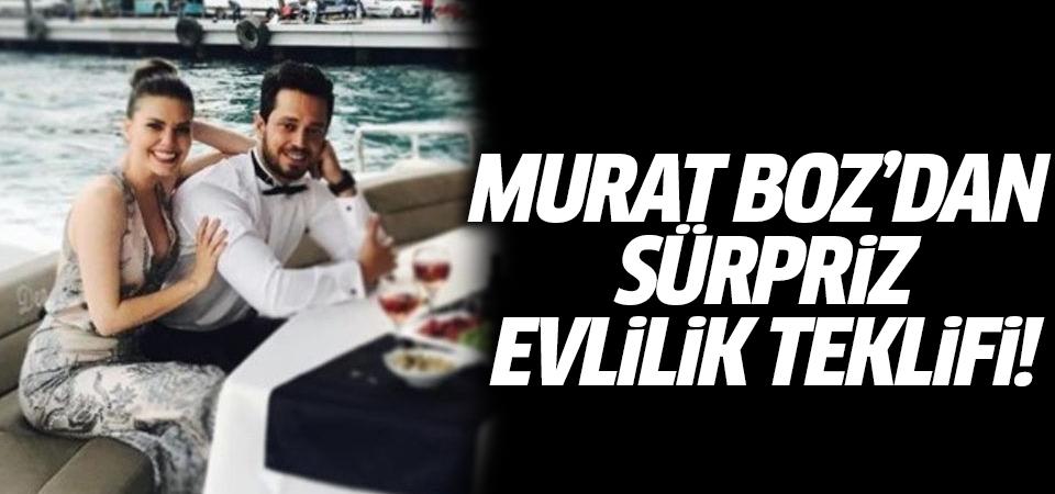 Murat Boz'dan sürpriz evlilik teklifi!