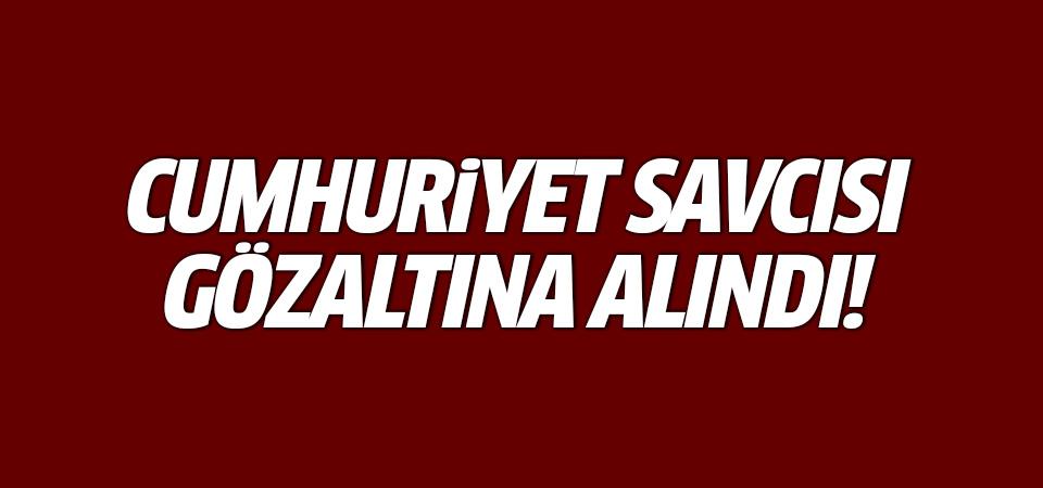 Cumhuriyet Savcısı Muhammet Ali Akkuş gözaltına alındı!