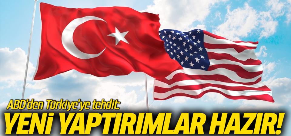 ABD'den Türkiye'ye tehdit: Yeni yaptırımlar hazır!