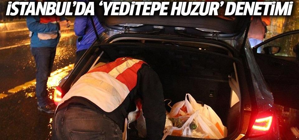 İstanbul'da 4 bin 600 polisin katılımıyla 'Yeditepe Huzur' denetimi