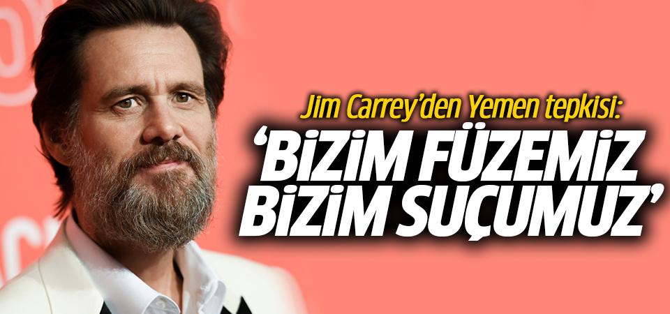 Jim Carrey'den Yemen tepkisi: Bizim füzemiz, bizim suçumuz
