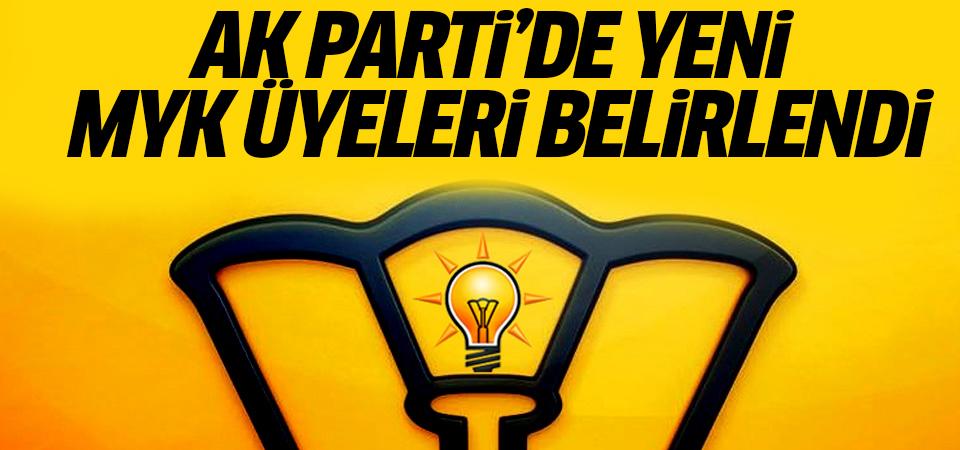 AK Parti'de yeni MYK üyeleri belirlendi