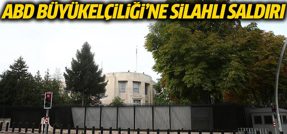 ABD Büyükelçiliği'ne silahlı saldırı