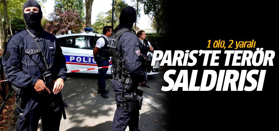 Paris'te terör saldırısı: 1 ölü, 2 yaralı