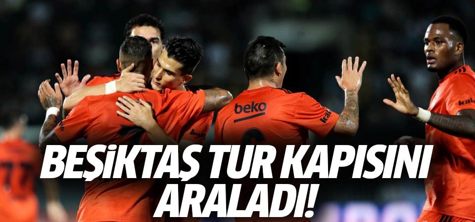 Beşiktaş tur kapısını araladı! 1-1