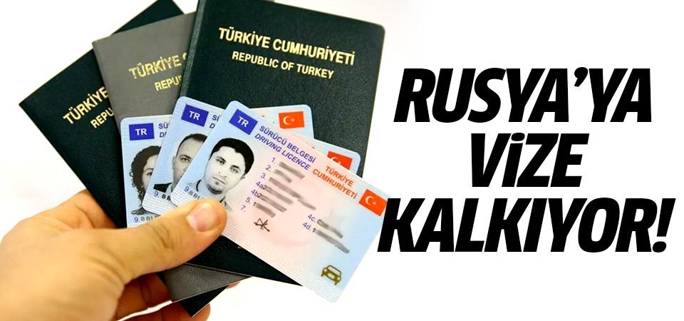 Rusya'ya vize kalkıyor