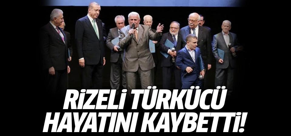 Rizeli ünlü türkücü Ahmet Çakar hayatını kaybetti
